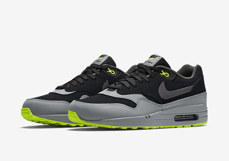 gs air max 1 lime green and white
